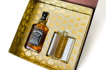 Convite para padrinho com Jack Daniels