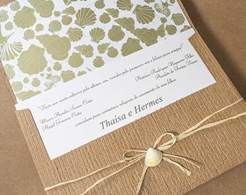 Convites Rusticos para Casamento na Praia