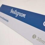 Plaquinhas de instagram para casamento