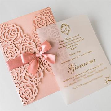 Convites de 15 anos - Debutante