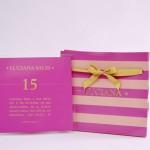 Convite debutantes – 15 anos – Luciana