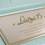 Convite Debutantes – 15 anos – Luiza