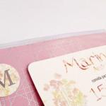 Convite Debutantes – 15 anos – Marina