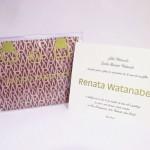 Convite Debutantes – 15 anos – Renata