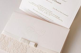 Convites de casamento Rendado – Donizete