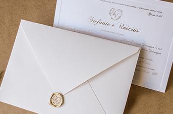 Convites de casamento tradicionais – Stefanie