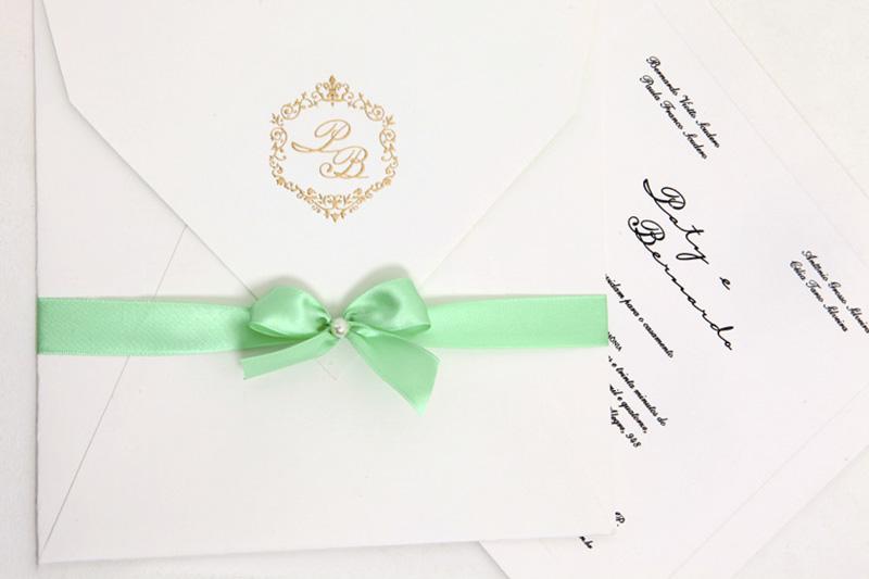 Convites de casamento no campo - Bernardo