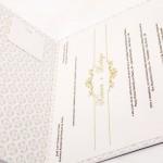 Convite de Casamento Platinum – Fidelix