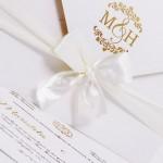 Convite de casamento Platinum – Maristela