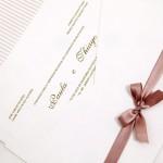 Convite de casamento Platinum – Paula