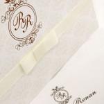 Convite de casamento Platinum – Renan