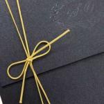 Convite de casamento Platinum – Sabrina