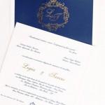 Convite de casamento Platinum – Ligia