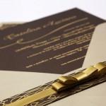Convite de casamento Premium – Carolina
