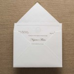 Convite de casamento Tradicional – Flavio