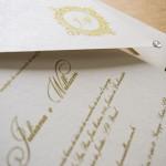 Convite de casamento Tradicional – William