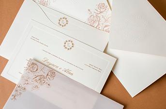 Convites de casamento tradicionais – Day