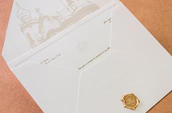 Convites de casamento tradicionais – Igreja