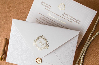 Convites de casamento tradicionais – Leonardo