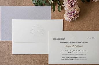 Convites de casamento tradicionais – Dangelo