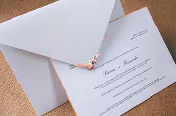 Convites de casamento Premium – Susana
