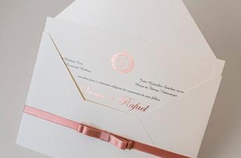 Convites de casamento tradicionais – Vivian