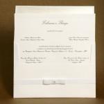 Convite de casamento Tradicional – Fabiana