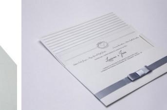 Convites de casamento Premium – João