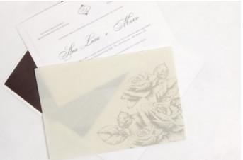 Convites de casamento Platinum – Ana Lucia