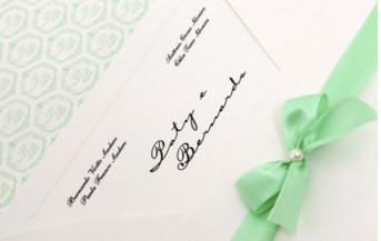 Convites de casamento Platinum – Bernardo