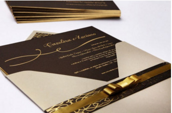 Convites de casamento Premium – Carolina