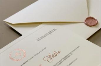 Convites de casamento tradicionais – Branch