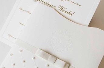 Convites de casamento Premium – Romeu