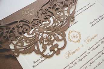 Convites de casamento Premium – Bruno