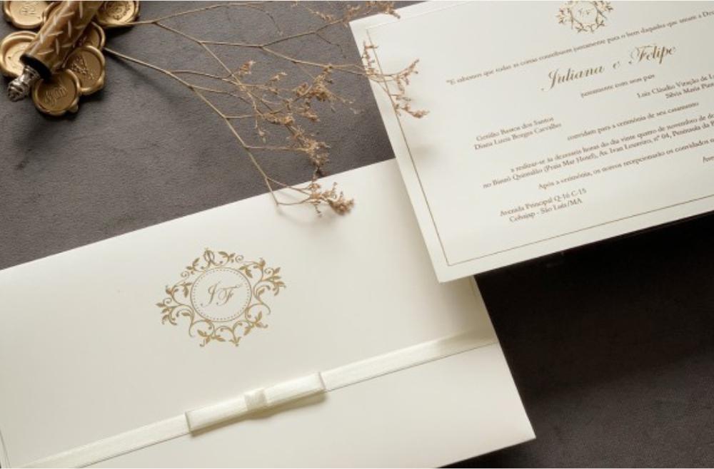 Convites de casamento tradicionais – Diana