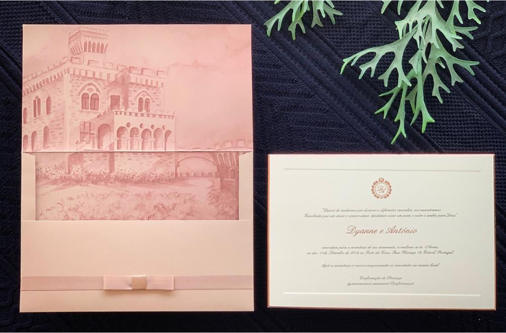 Convites de casamento tradicionais – Dyanne