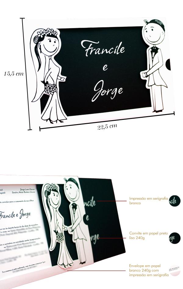 Convites de Casamento Presence Encontro