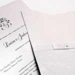 Convite de casamento rendado – Luiza