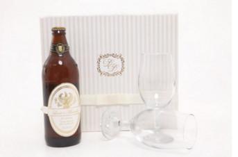 Convite para padrinho caixa com cerveja