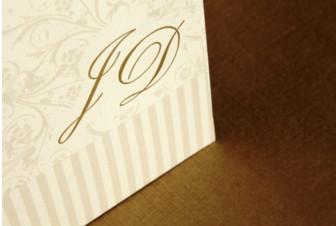 Convites de casamento tradicionais – Diego