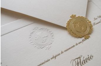 Convites de casamento tradicionais – Flávio