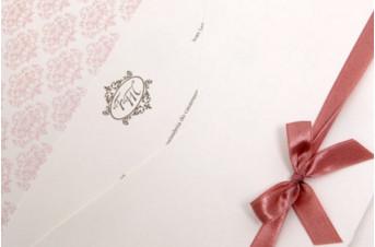 Convites de casamento Platinum – Francine