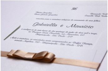 Convites de casamento Premium – Gabi