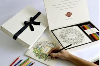 Convite para padrinhos – Ilustrado