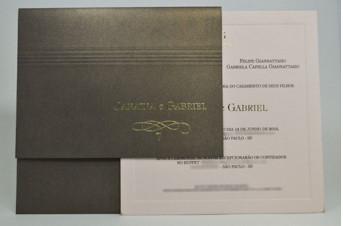 Convites de casamento Premium – Janaina