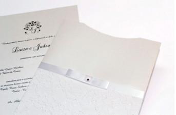 Convites de casamento Rendado – Luiza