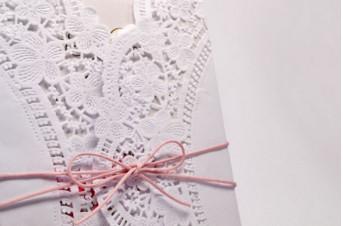Convites de casamento Rendado – Minha Vida