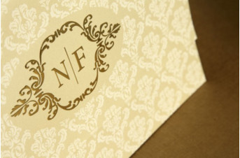 Convites de casamento tradicionais – Natassia