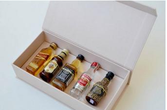 Convite para padrinhos mini bebidas