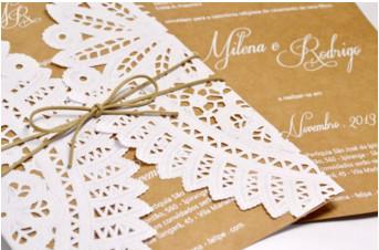 Convites Rendados – Por Amor